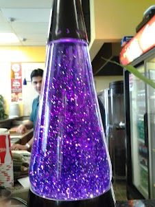 Love This Purple Glitter Lava Lamp Purple Love Purple