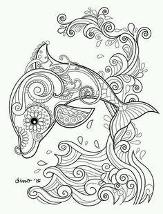 Image Result For Free Dragon Mandala Coloring Pages