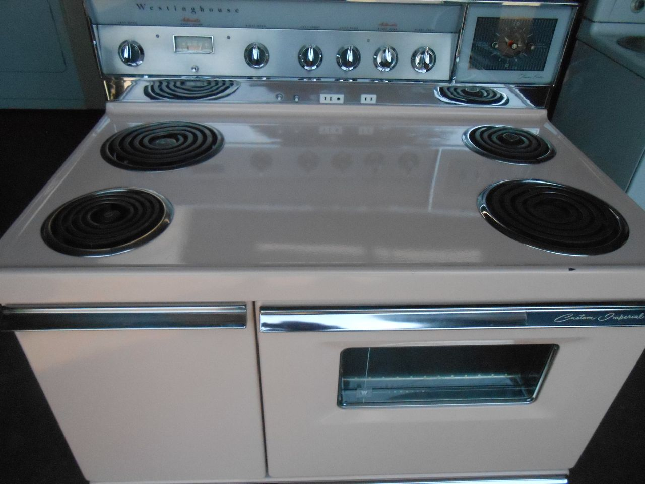 Pin By Appliance City On Vintage 40 Inch Pink Range