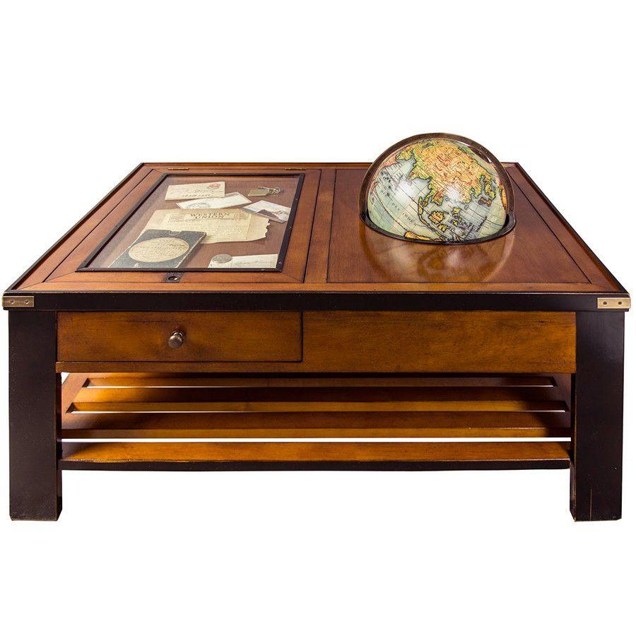 The Traveler S Coffee Table Timberwolf Bay Wooden Accent Table Coffee Table Wood Accent Table [ 900 x 900 Pixel ]