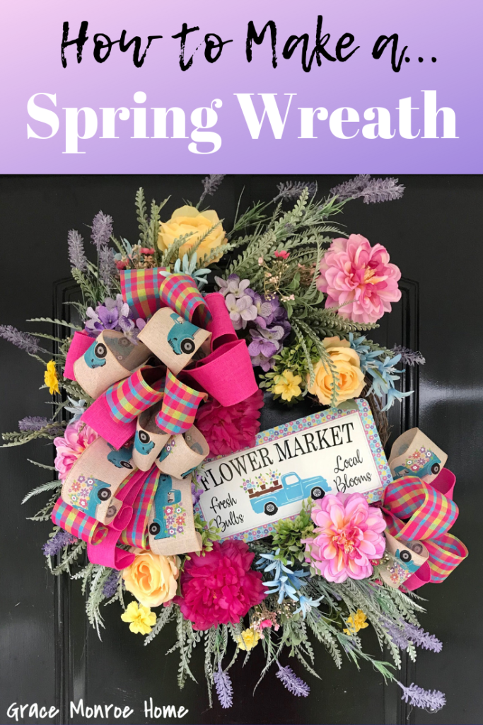 Photo of Easy DIY Spring Wreath Tutorial – Grace Monroe Home