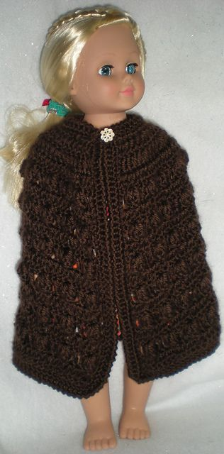 Cloak For Ag Or Other 18 Doll Pattern By Pat Ford Cloaks Ravelry
