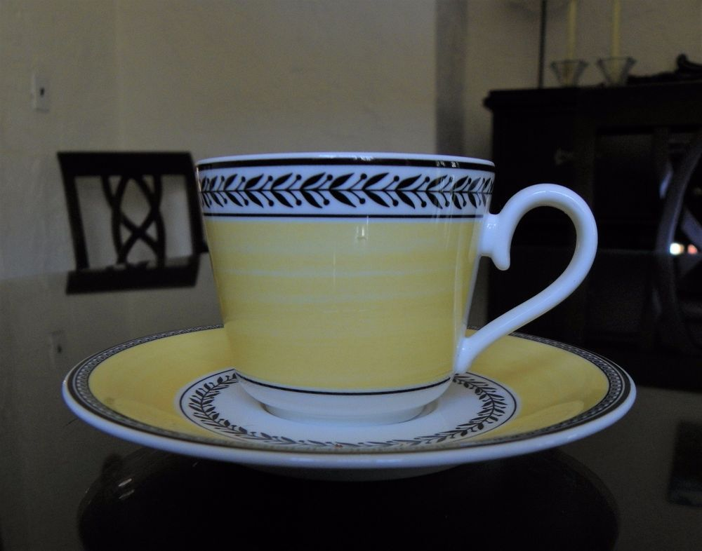 Villeroy Boch Audun Espresso Cappuccino Cup And Saucer Villeroyboch