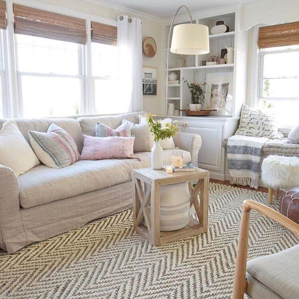 79 Cozy Modern Farmhouse Living Room Decor Ideas: 43 Cozy Rustic Farmhouse Living Room Decor Ideas For Your