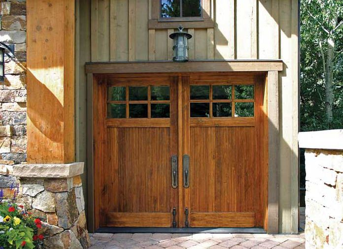 How to Choose a Garage Door - Old-House Online - Old-House Online & How to Choose a Garage Door | Garage doors Batten and Doors
