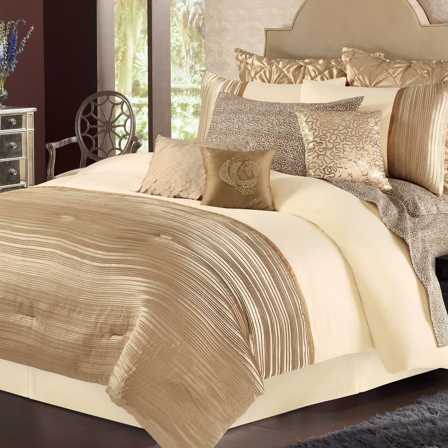 gold and bronze themed bedrooms - Google Search | Bedroom ...
