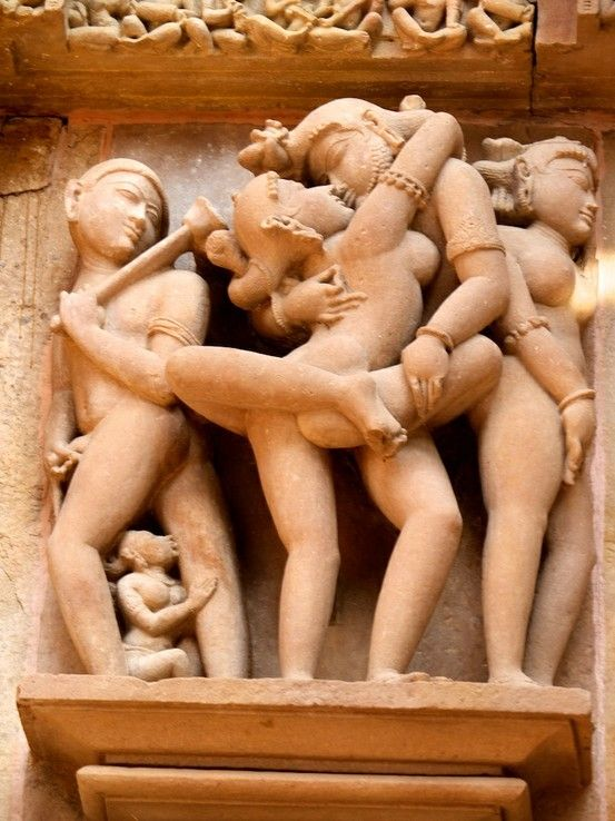 temple erotic statue india lakshmi