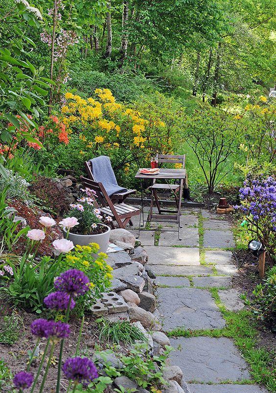 Flower Garden Cottage Garden Pinterest Jardines, Beautiful y Nook - paisaje jardin