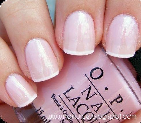 Blush nail polish