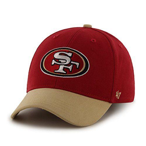 NFL San Francisco 49ers Kids Short Stack 47 MVP Adjustable Hat Infant Red      You can get more details by clicking on the image. f6ef59d13