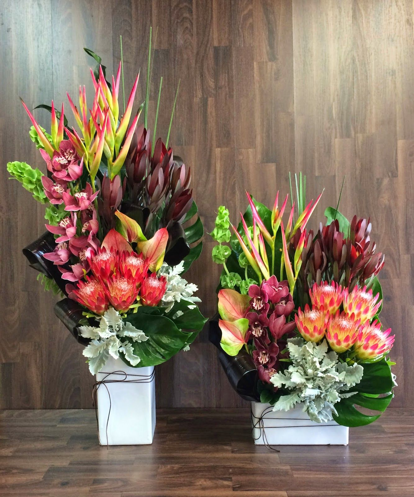 Australian Native Flower Arrangements For Church Event in Baulkham     Urban Flower  Australian Native Flower Arrangements  Very interesting  Protea they have used I haven t seen those ones before