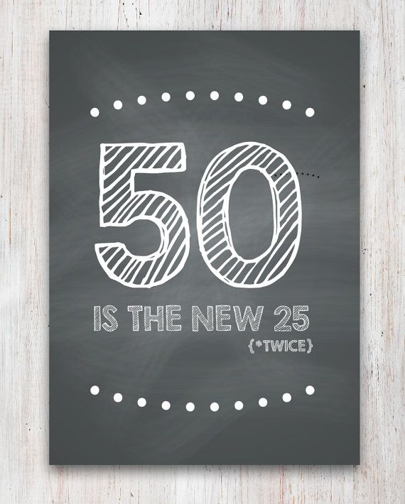 Funny 50th Birthday Card Printable On Etsy 200