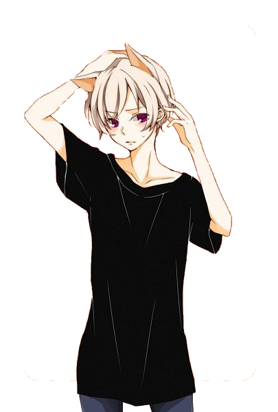 Pin by mal on Transparent Photos (With images) Neko boy