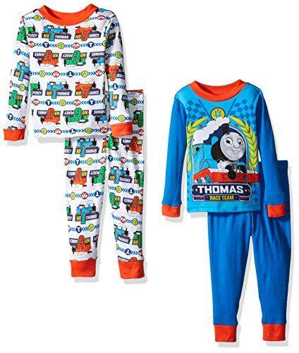 Thomas the Train Toddler Boys' Icon 4-Piece Pajama Set ...
