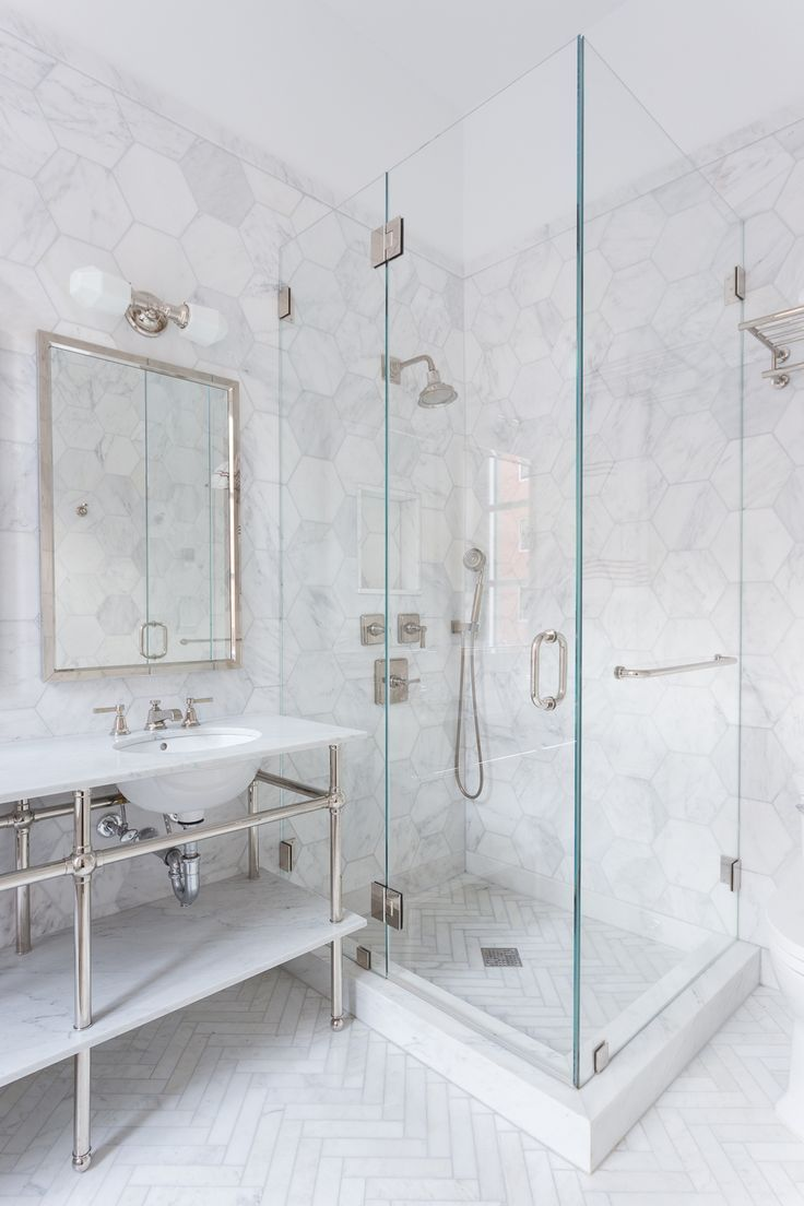 Really Like This Faux Marble Paneled Shower Look At In Person Check Costs Sizes Available Marble Bathroom Designs Shower Floor Shower Tile