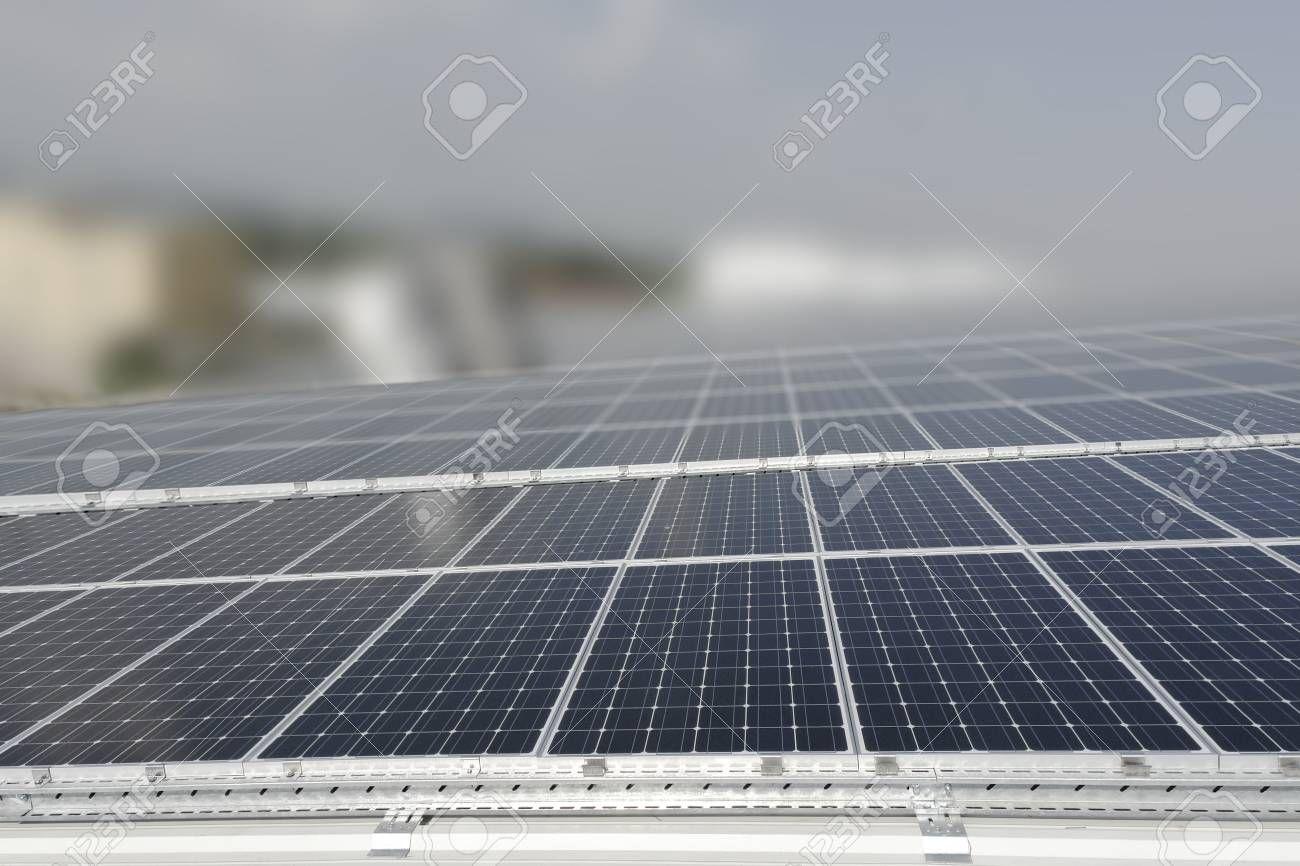 Solar Panels With Dof Stock Photo Spon Panels Solar Dof
