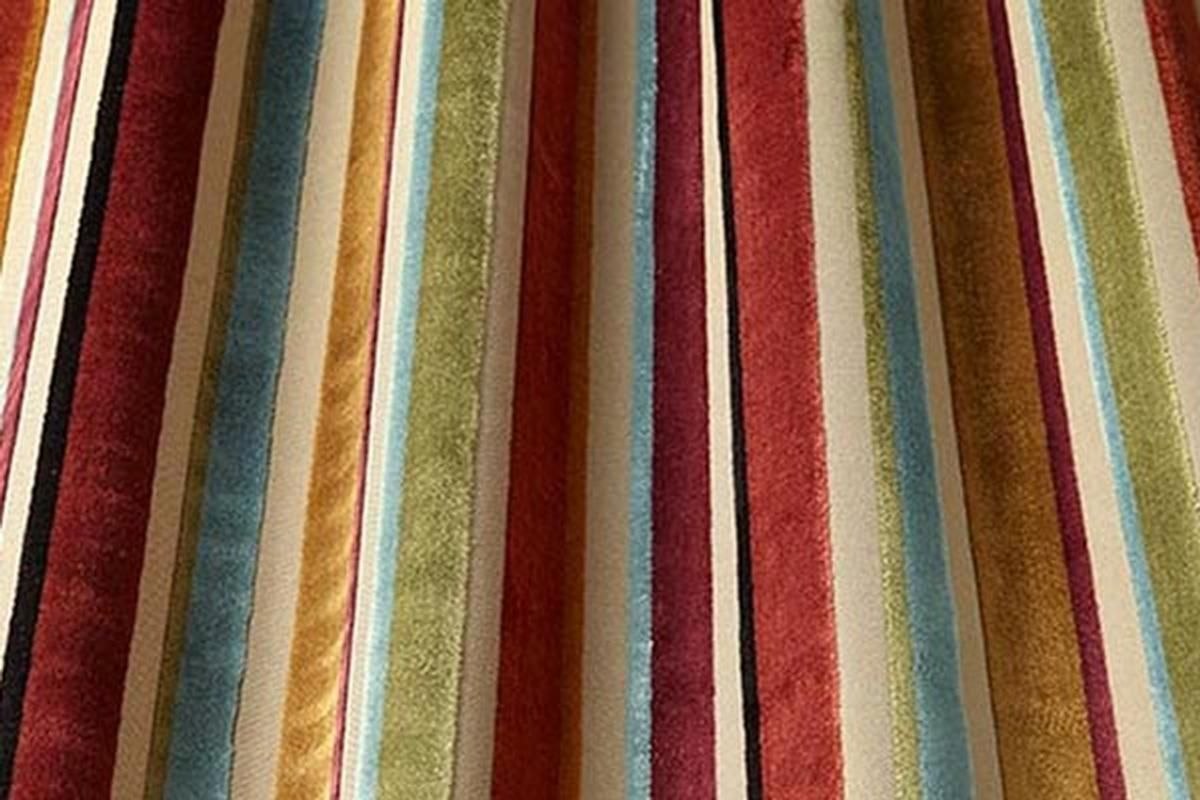 Stripes And Checks Made To Measure Curtains Classic Curtains Curtains With Blinds
