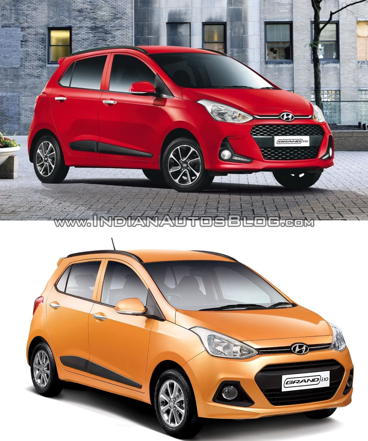 2017 Hyundai Grand I10 Vs 2013 Hyundai Grand I10 Old Vs New