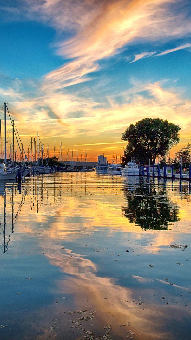 Sonnenuntergang Niendorf Ostsee