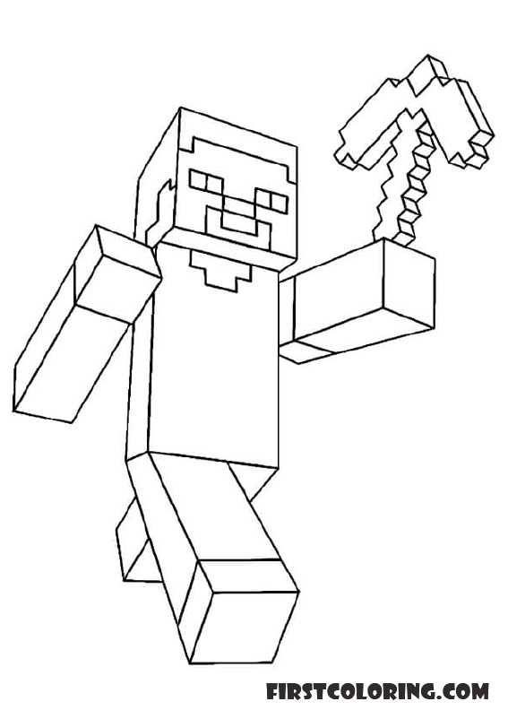 12 Magnificient Coloriage Minecraft Cochon Zombie Image Idee De Coloriage Vozeli Com
