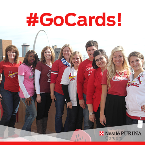#Purina ready for post-season baseball in St. Louis!