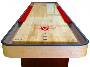 Classic Cushion Shuffleboard Table | Professional Shuffleboard Tables