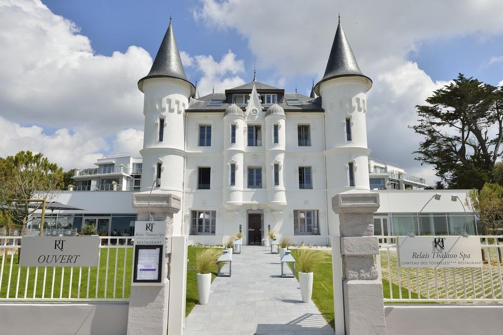 Chateau Des Tourelles Hotel Thalasso Spa Baie De La Baule Pornichet Reservation Et Tarifs Pornichet La Baule Le Croisic