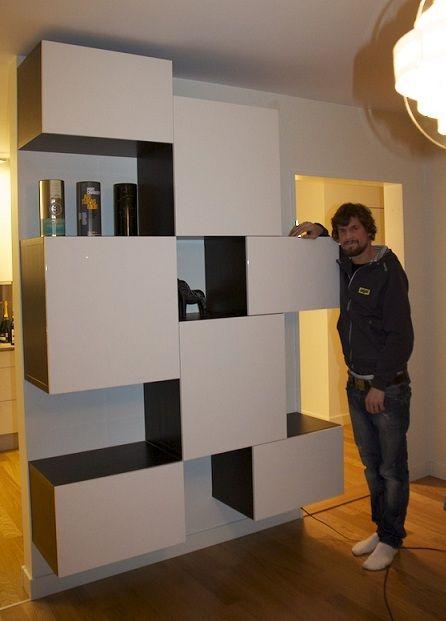 Album - 10 - Gamme Besta (Ikea) Buffets, éléments en suspension ...
