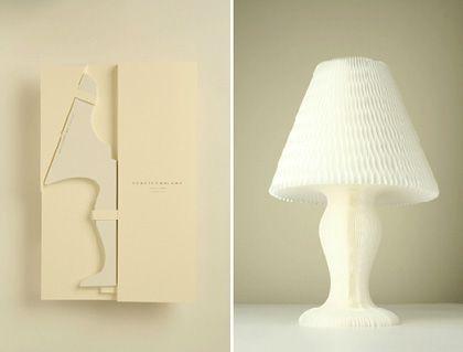 Japanese Paper Honeycomb Lamp: Honeycomb Lamp Designed By Kyouei Design Is  Made Using U0027denguri