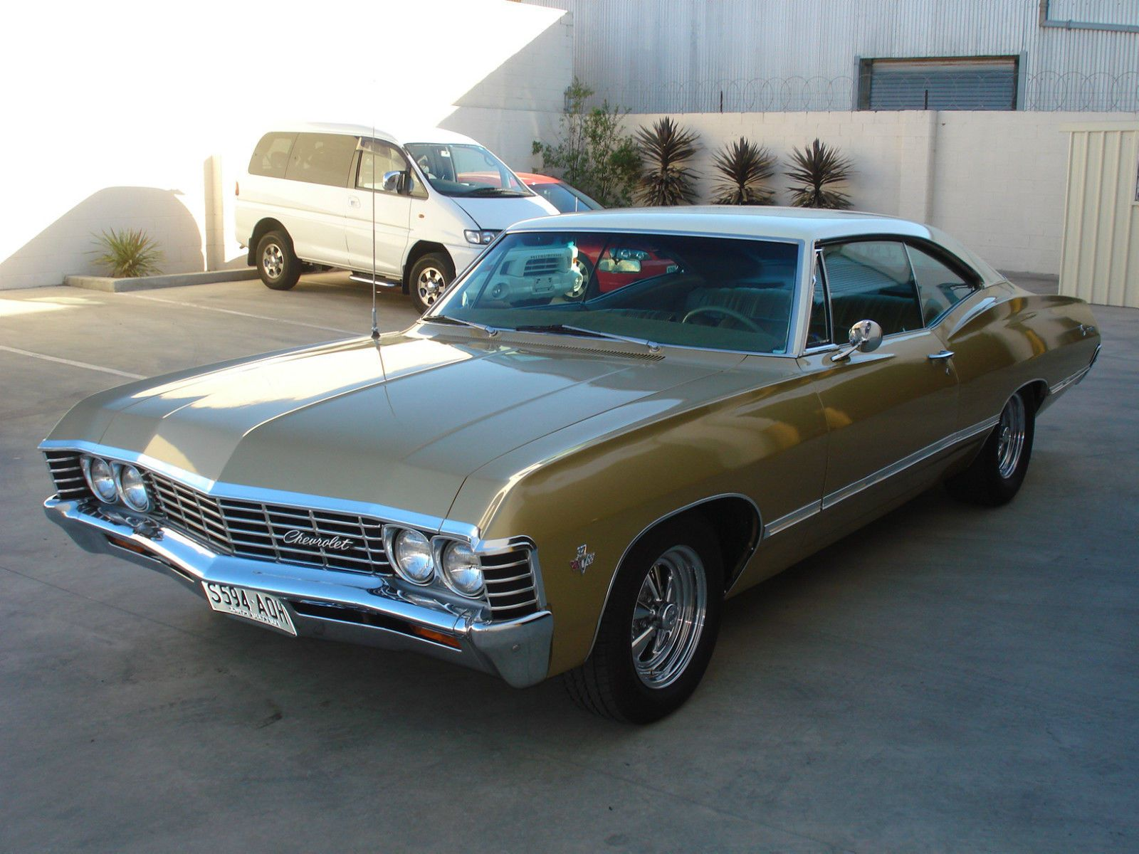 1967 chevrolet impala 2 door pillarless sport coupe this is a recent import but
