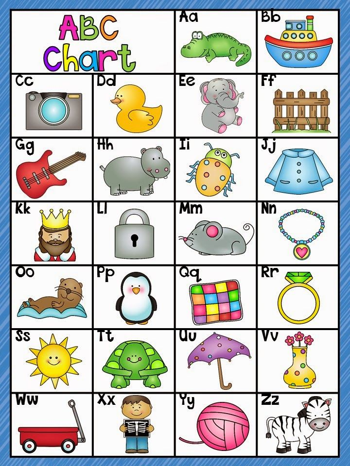 Alphabet Zoo Abc Chart Freebielicious  Abc Chart Zoos And