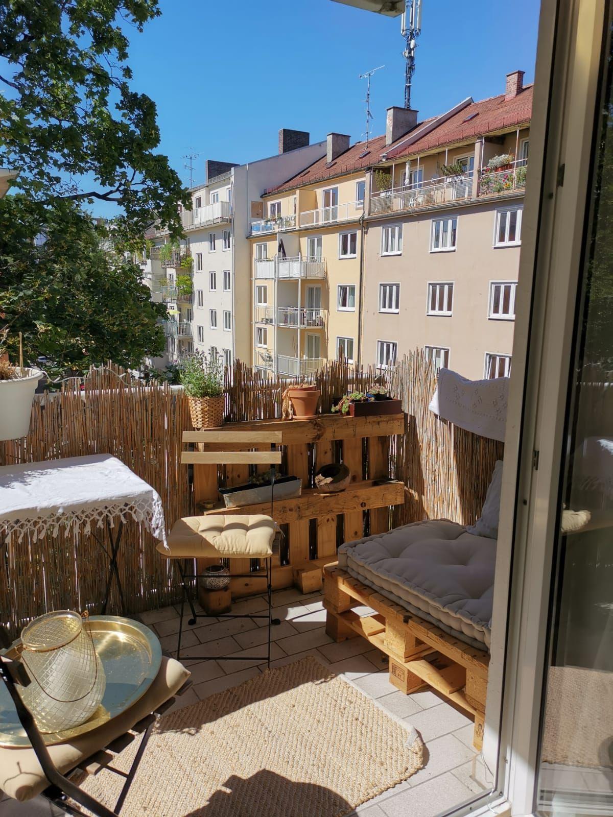 DIY Balkonmöbel   Balkonmöbel, Wohnung balkon dekoration, Zuhause ...