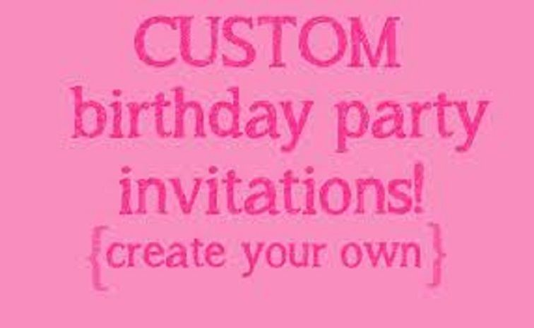 Make Your Own Birthday Invitations Free Party Invitation Card