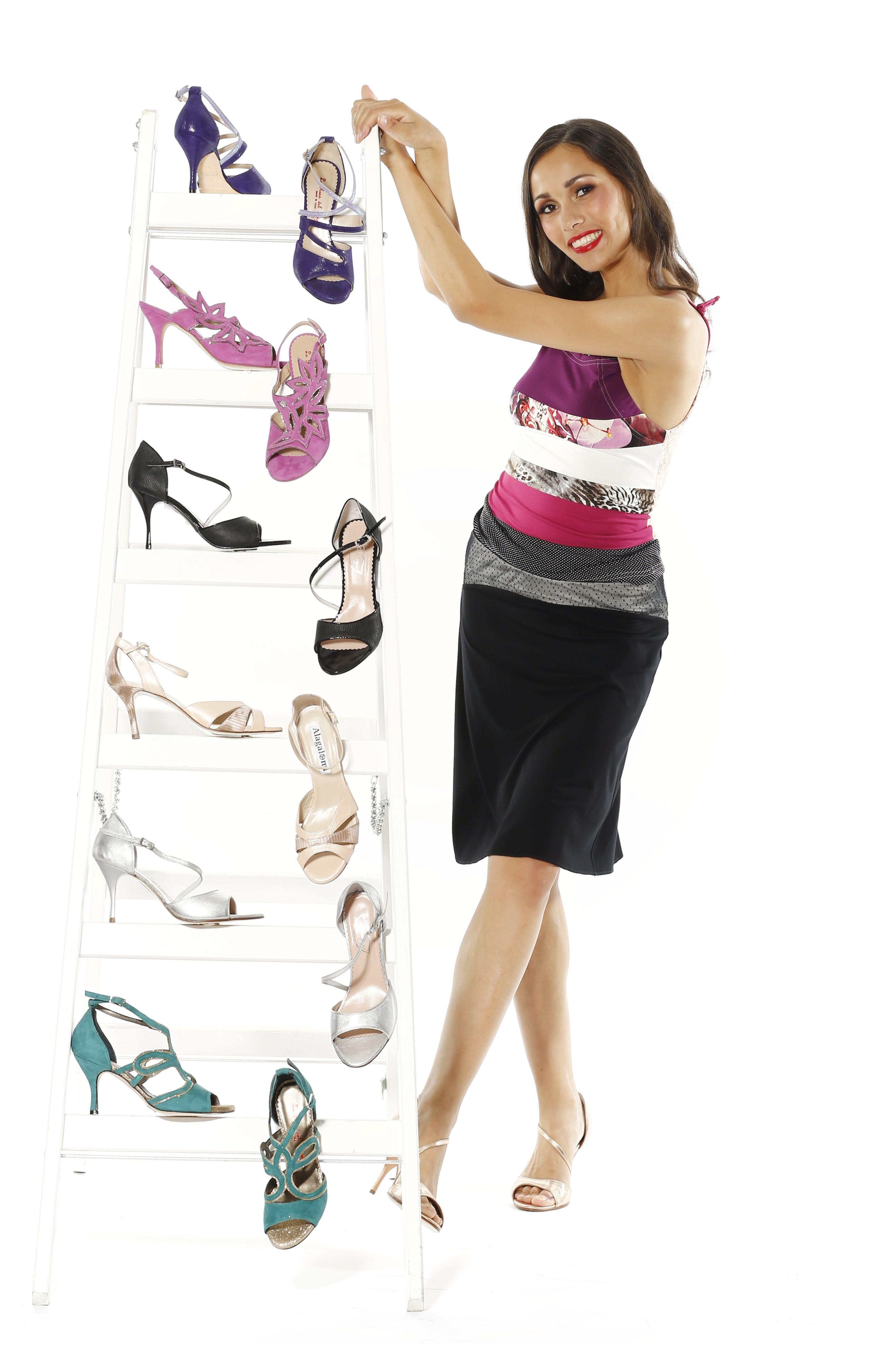 """Yes, I am addicted to tango shoes. No, I don`t need help."" #TangoArgentino, #TangoBerlin, #Tangoshoes, #MavaLou"