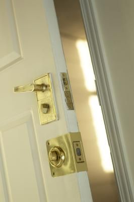 How To Stop A Door From Closing Home Safety Tips Home Security Tips