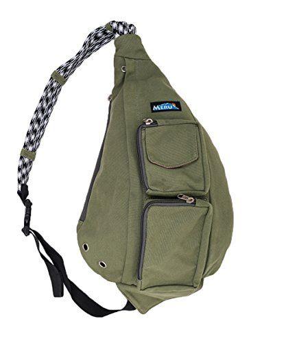 Meru Rope Bag Crossbody Sling The Ideal Edc Backpack Single Shoulder Strap
