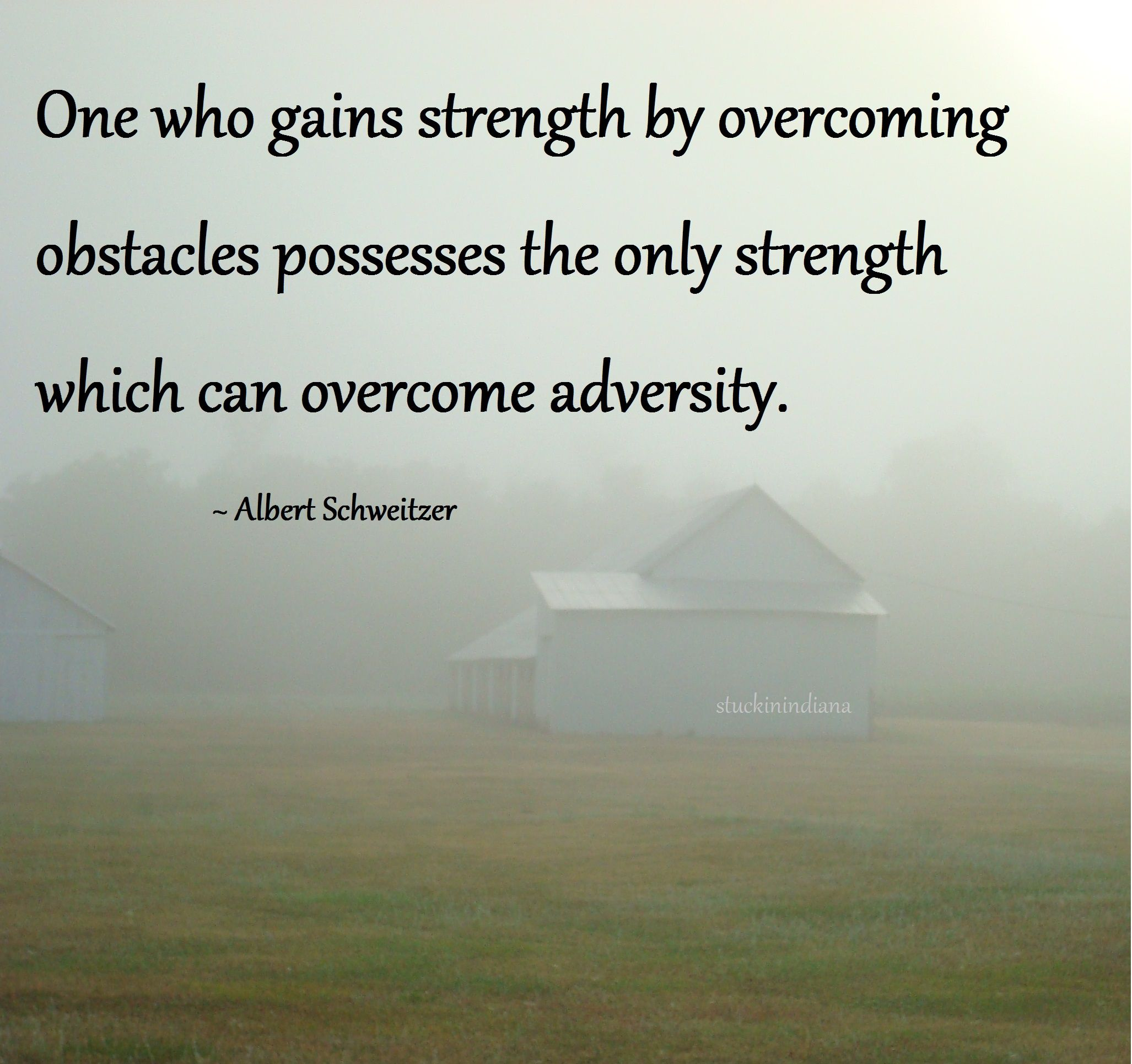 Overcoming Obstacles Quotes One Who Gains Strengthovercoming Obstacles Possesses The Only