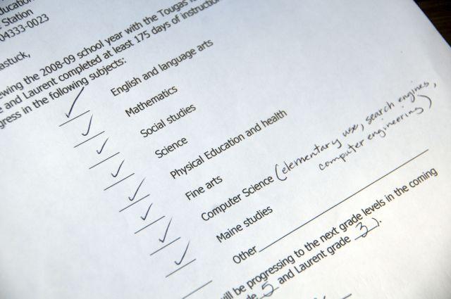 Sample Homeschool Evaluation Letter  Break Down Our Studies Into