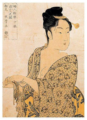004-La hedonista 1792-Kitagawa Utamaro-Ciudad de la Pintura