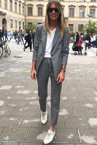 Tailleur pantalone, tendenza calda della moda autunno inverno – no time for style