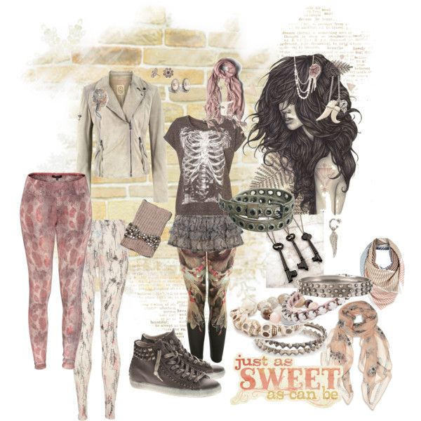 sweet pea, created by crazyfish on Polyvore