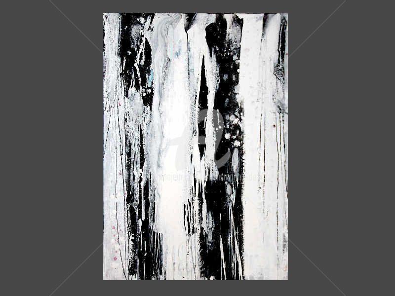 malerei von conny wachsmann deutschland artmajeur schwarz weiss abstrakt abstrakte kunst gemalde moderne weiß speckstein skulpturen