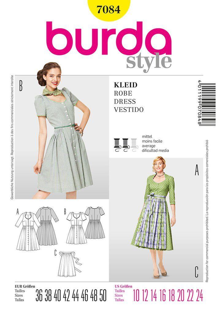 7084 - Burda Style | Recicleje de ropa | Pinterest | Patrones ...