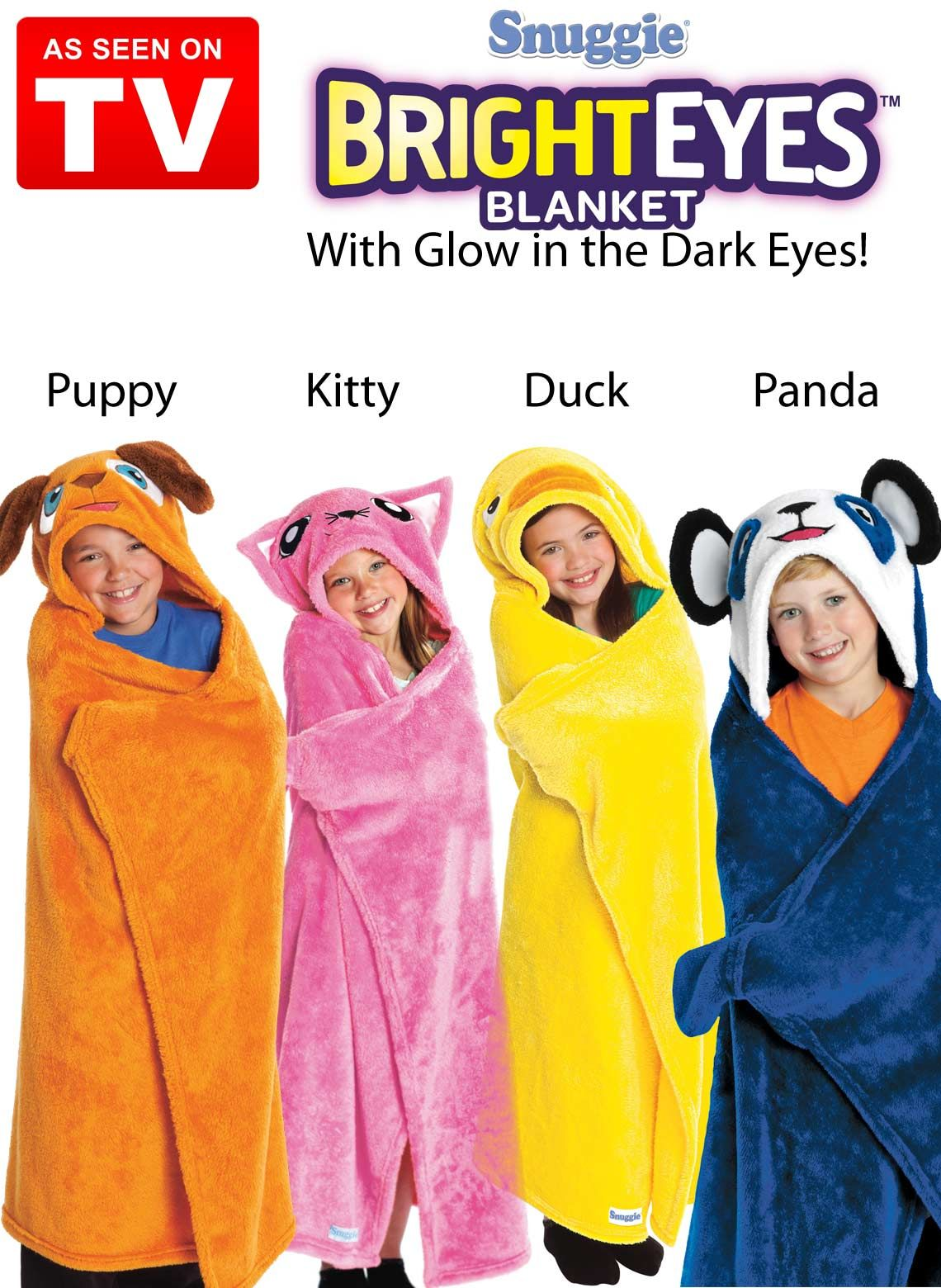 Bright Eyes Blanket As Seen On Tv I Want The Kitty Clothes