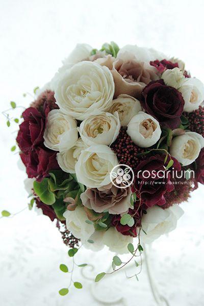 Rosarium 画像あり ブーケ 冬 ブーケ ウェディング ブーケ クラッチ