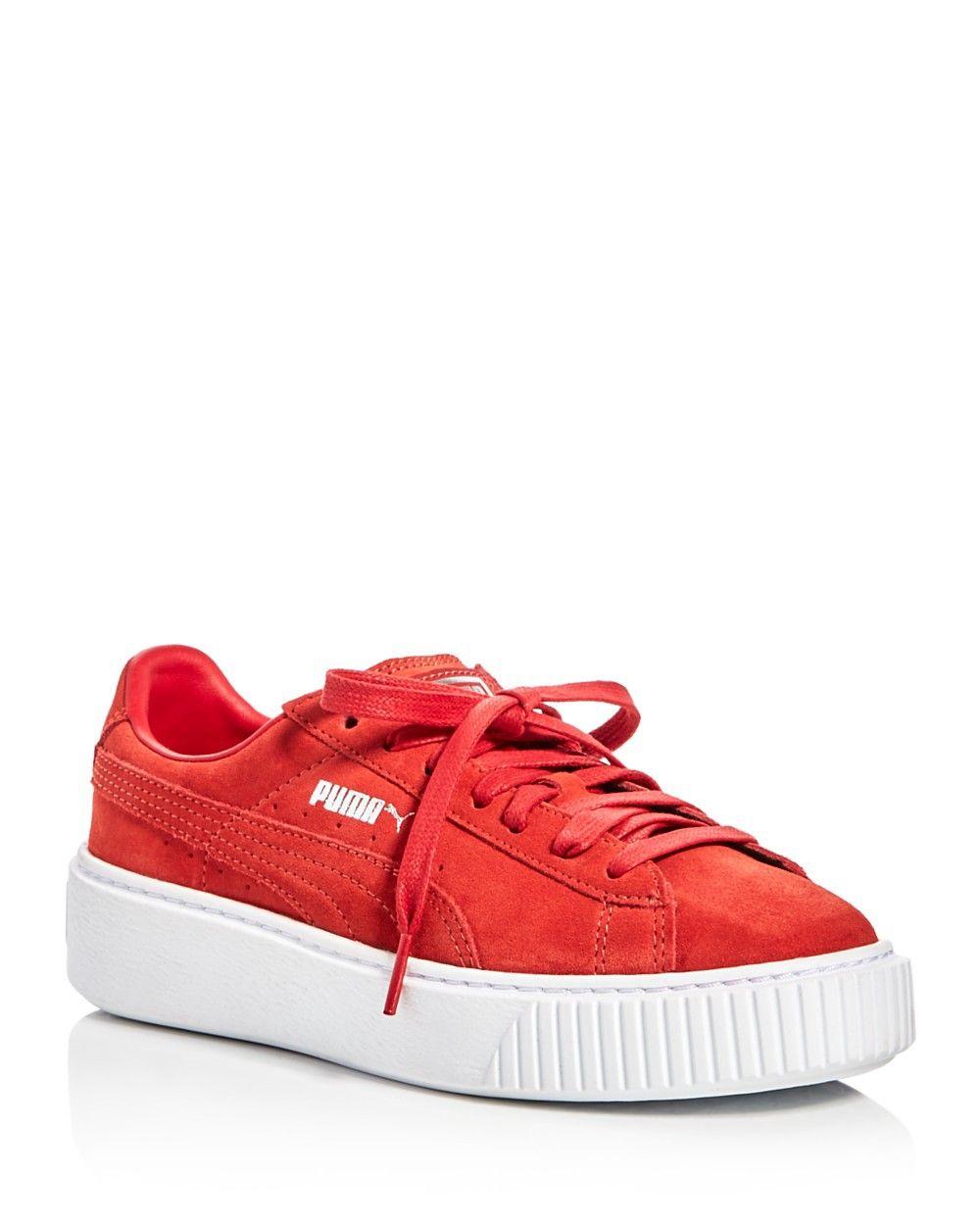 4c4ee3f48222 PUMA PUMA Lace Up Platform Sneakers.  puma  shoes  all