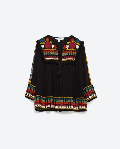 EMBROIDERED JACKET from Zara