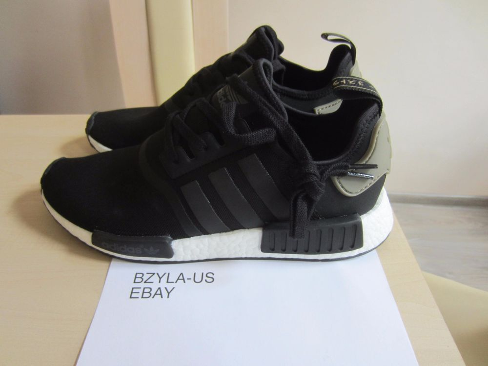 1209ae7d00373 Adidas NMD R1 Runner TRACE CARGO Core Black Trail Olive BA7251  adidas   AthleticSneakers