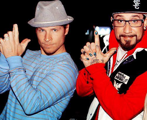 Brian Littrell & AJ Mclean