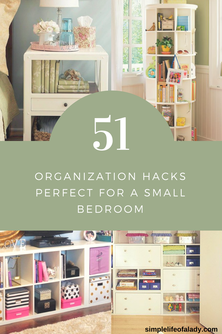 61 Simply Amazing Small Space Hacks For Your Tiny Bedroom Room
